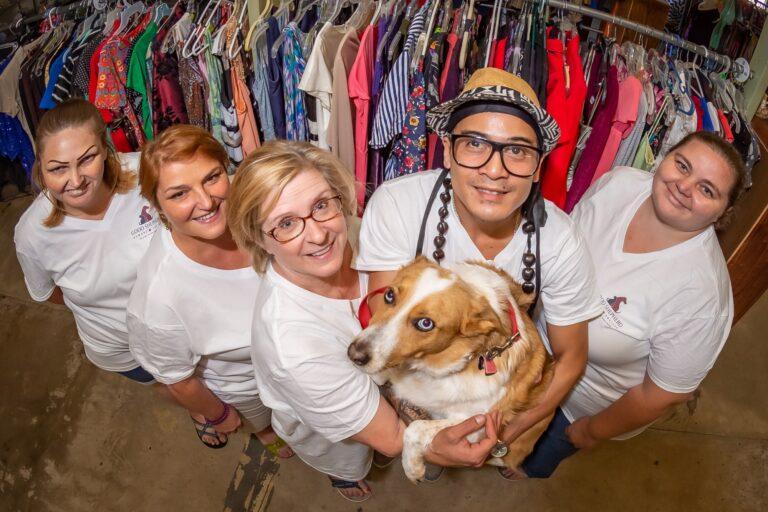 Good Shepherd thrift store volunteers